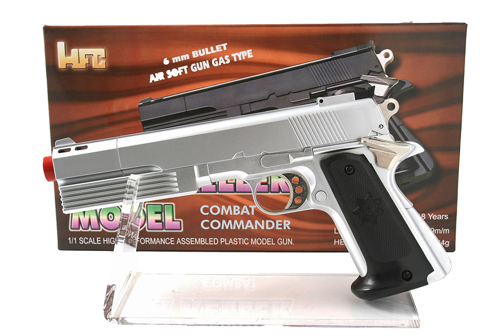 Pistola giocattolo gas combat arg