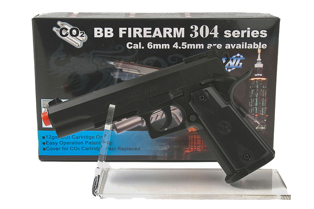 Pistola giocattolo softair CO2