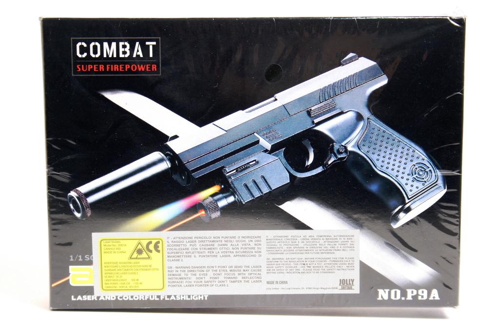 Pistola giocattolo molla P9A