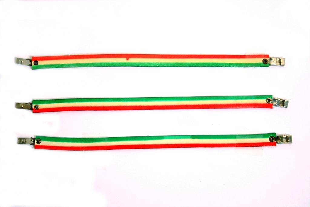 Bracciali cuoio 8 mm ITALIA misure ass.te