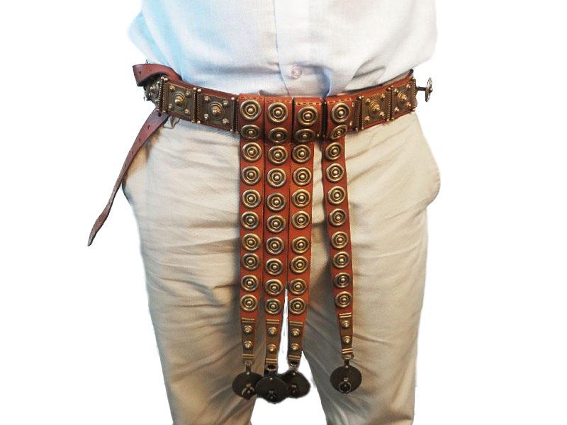 Cintura romana in cuoio