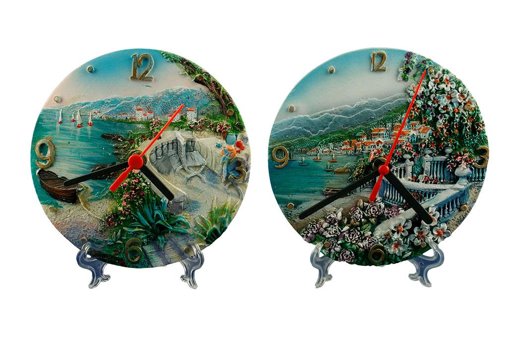 Orologio resina mare 6 soggetti ass.ti cm. 15