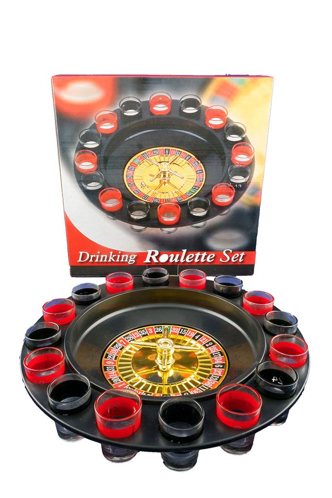 Roulette Game c/16 bicchieri