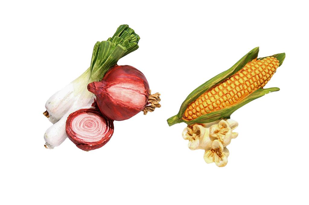 Magnetici resina cipolla-pop corn