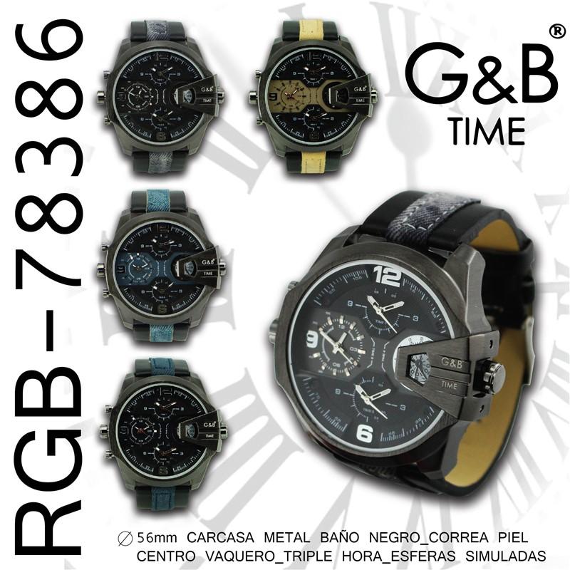 Orologio GB uomo pu/teiano xl 3 crono reali