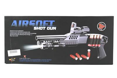 Fucile pompa corto con cartucce