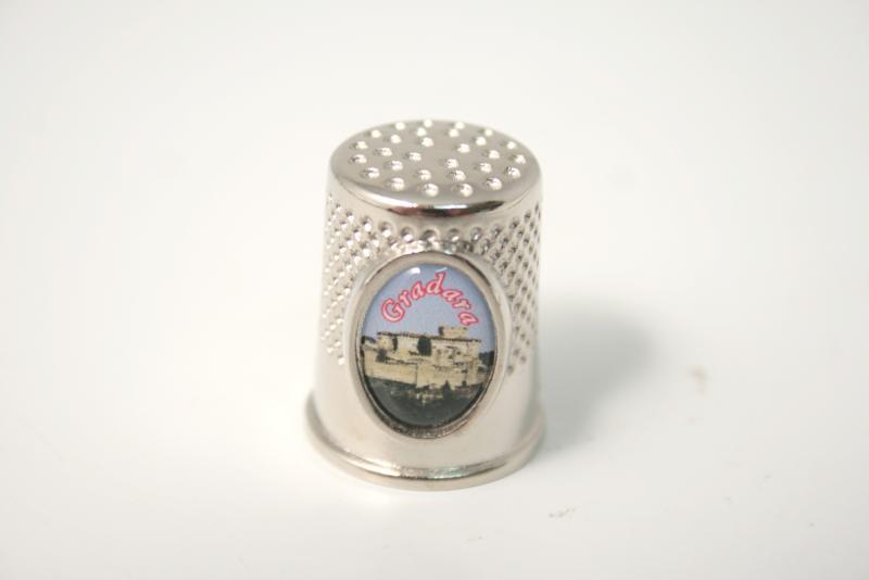"Ditale souvenir stiker ""Gradara"""