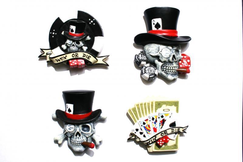 "Magnetici ""Texas Poker Hold'em"" set 4 ass.ti"