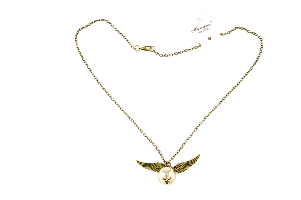Collana Metallo gold Boccino HP