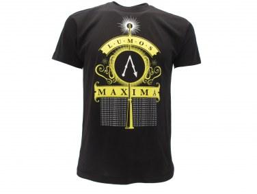T Shirt Harry Potter LUMOS MAXIMA misure XXS-XS-S-M-L-XL