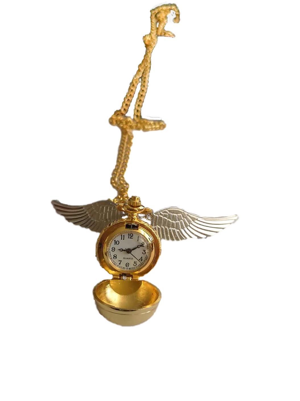 Collana bigiotteria HP con Orologio