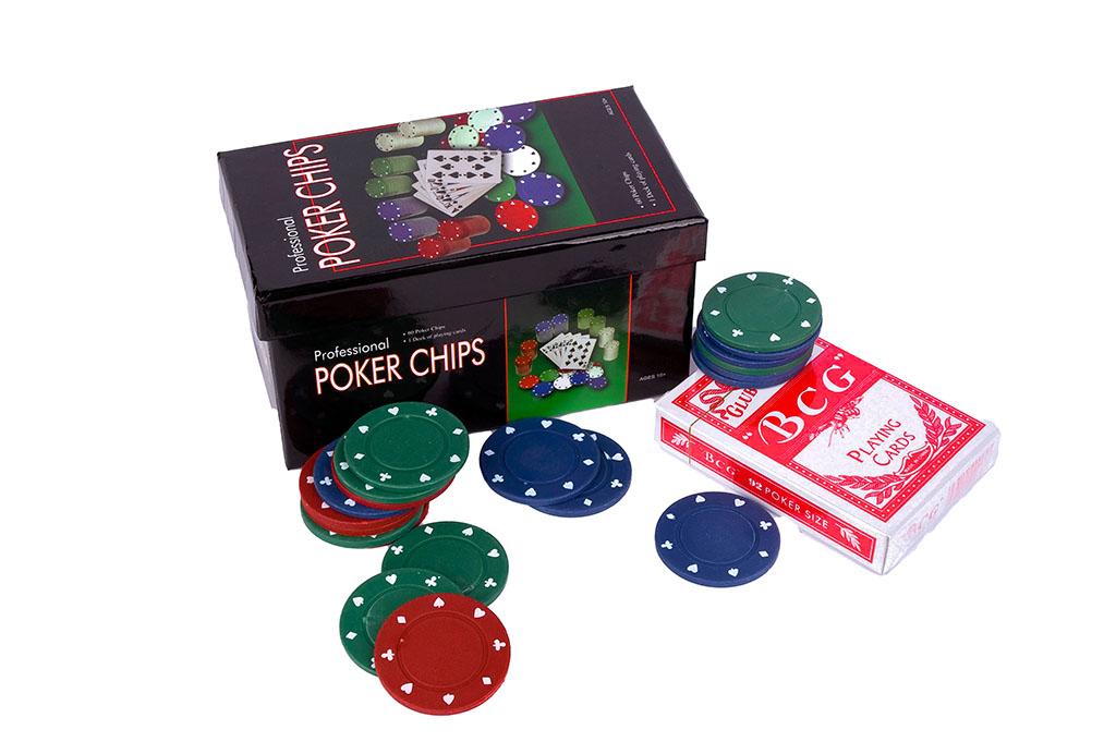 Poker chips game scatola regalo