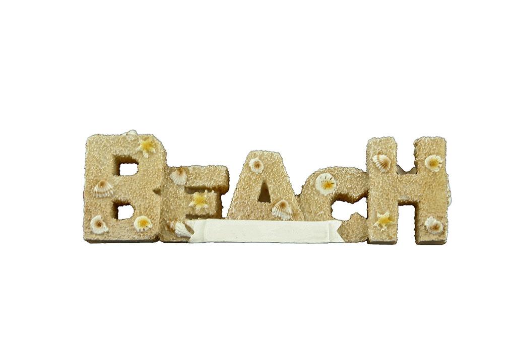 Soprammobile BEACH sabbia con conchiglie