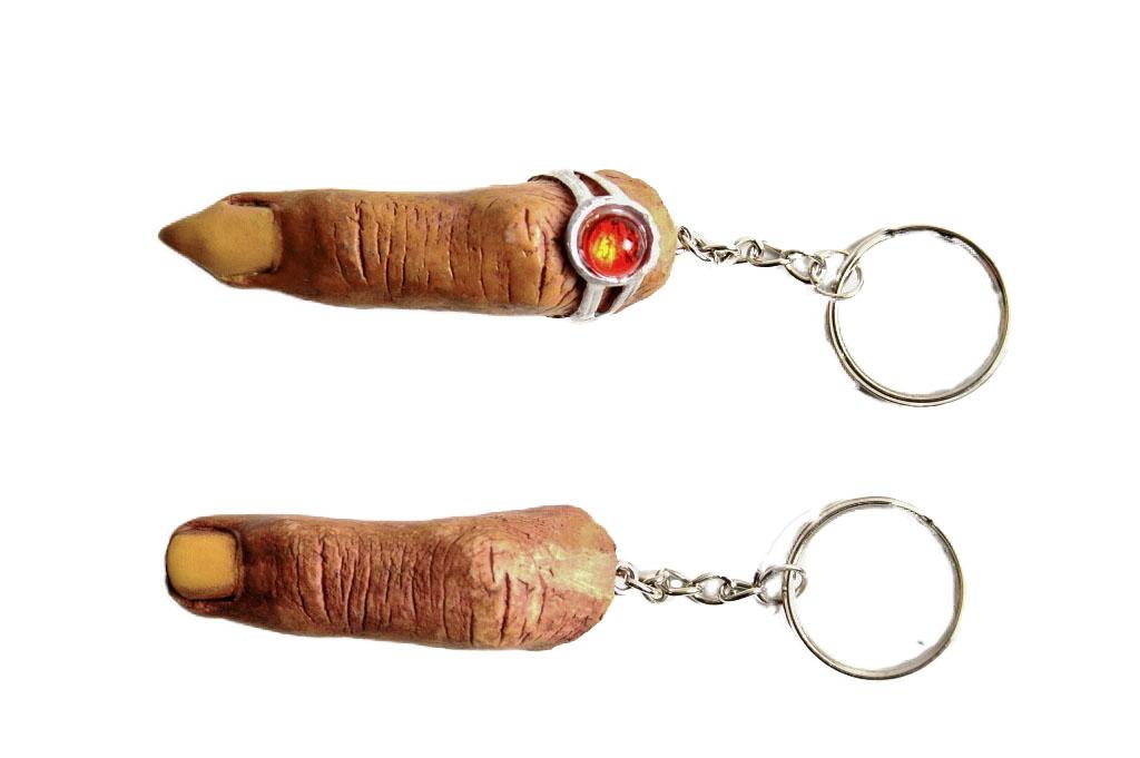 Porta chiavi dita scherzo 2 modelli ass.ti  E/F