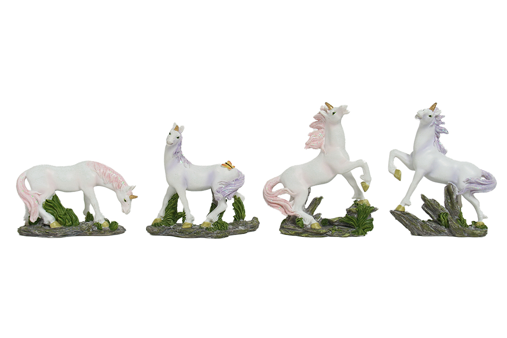 Unicorni piccoli 12 ass.ti h cm.10