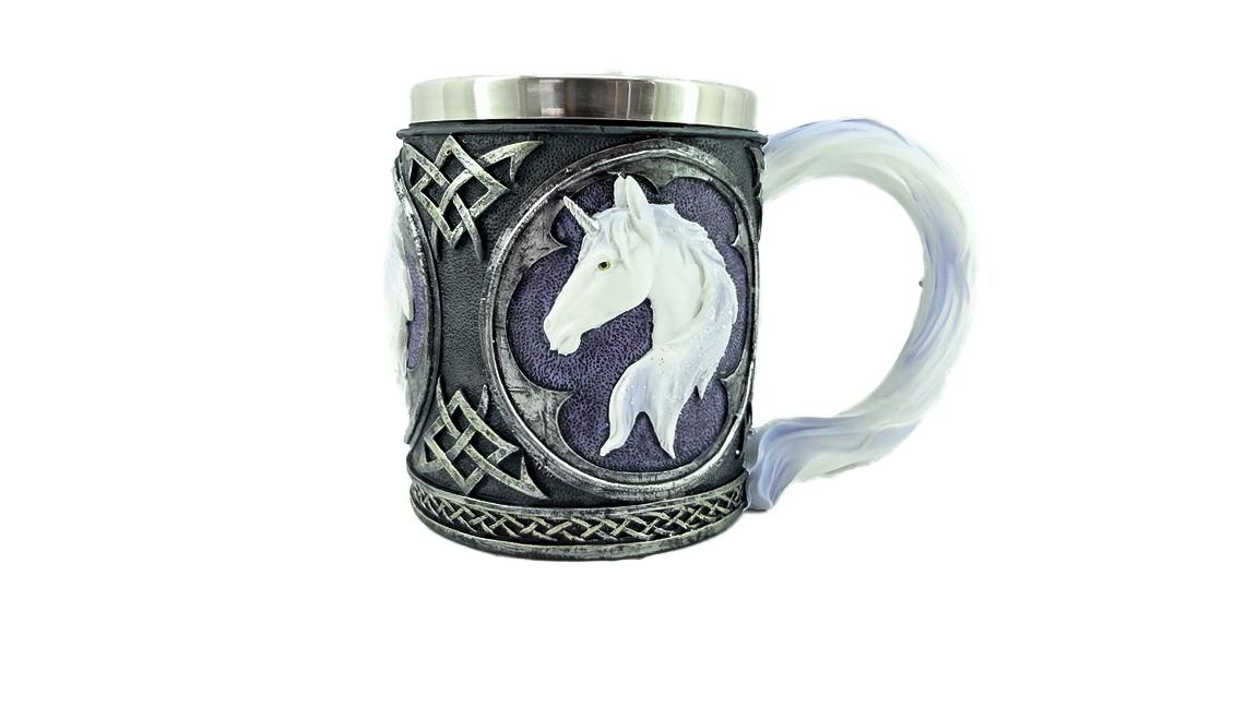 Boccale Unicorno h cm. 10,5x9