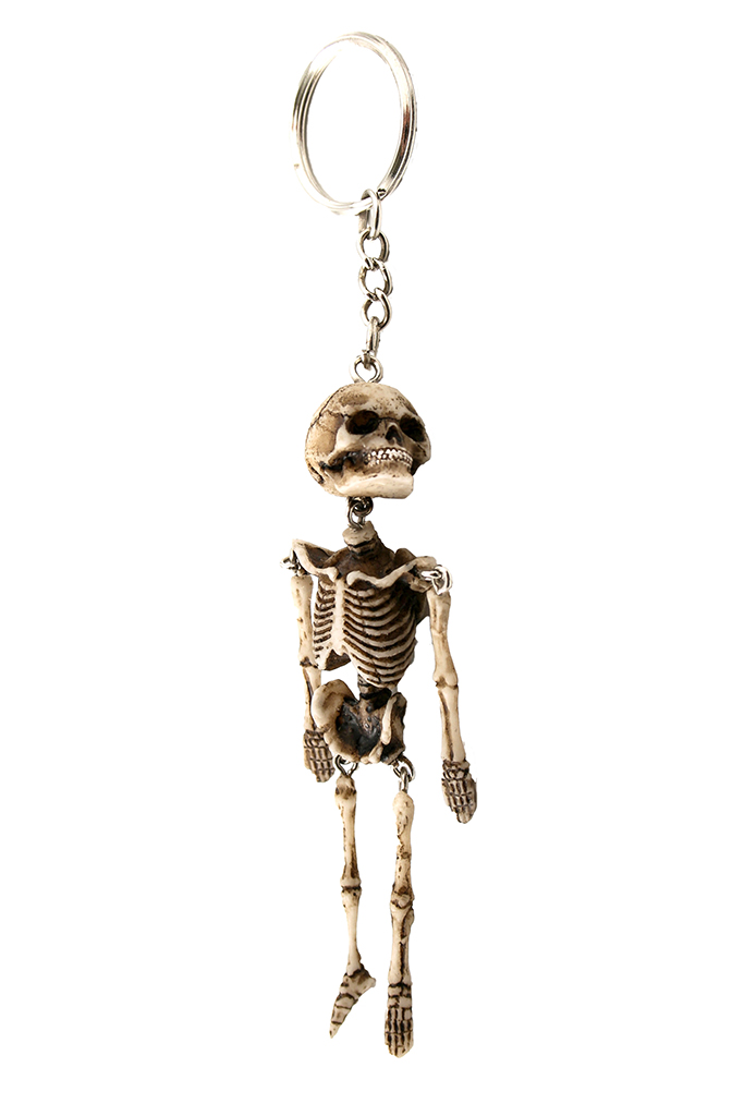 Porta chiavi scheletro cm. 12