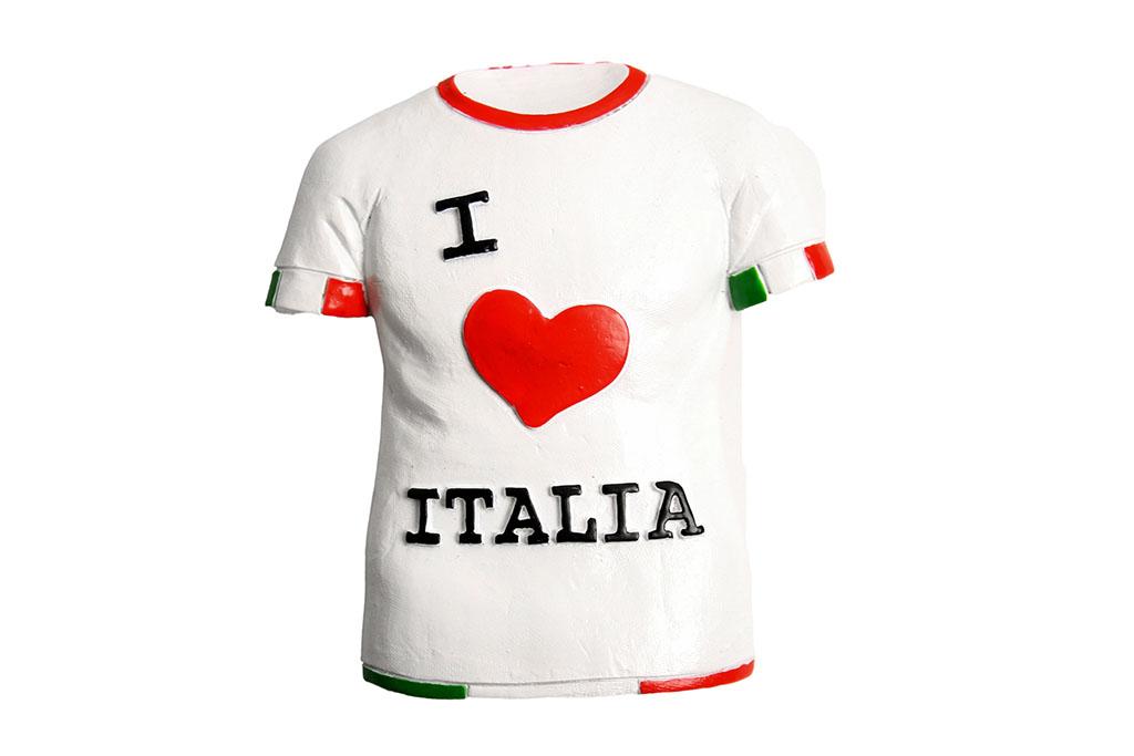 Magnetico T Shirt I LOVE ITALIA
