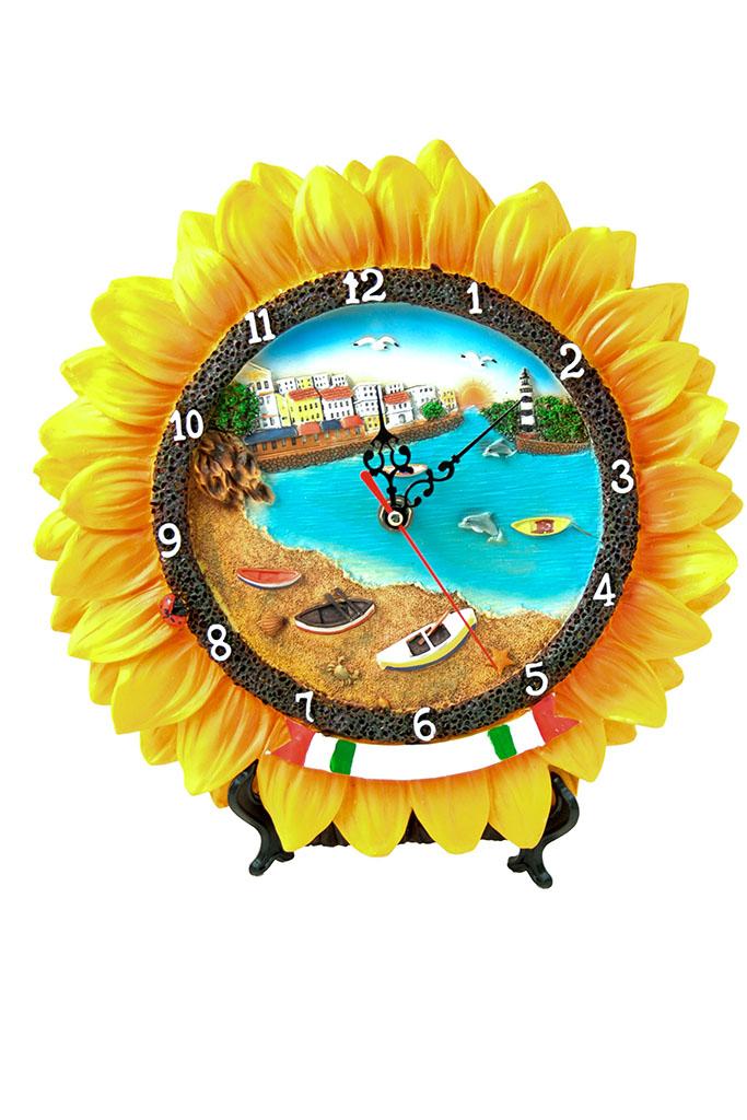 Orologio girasole mare generico cm. 28x28