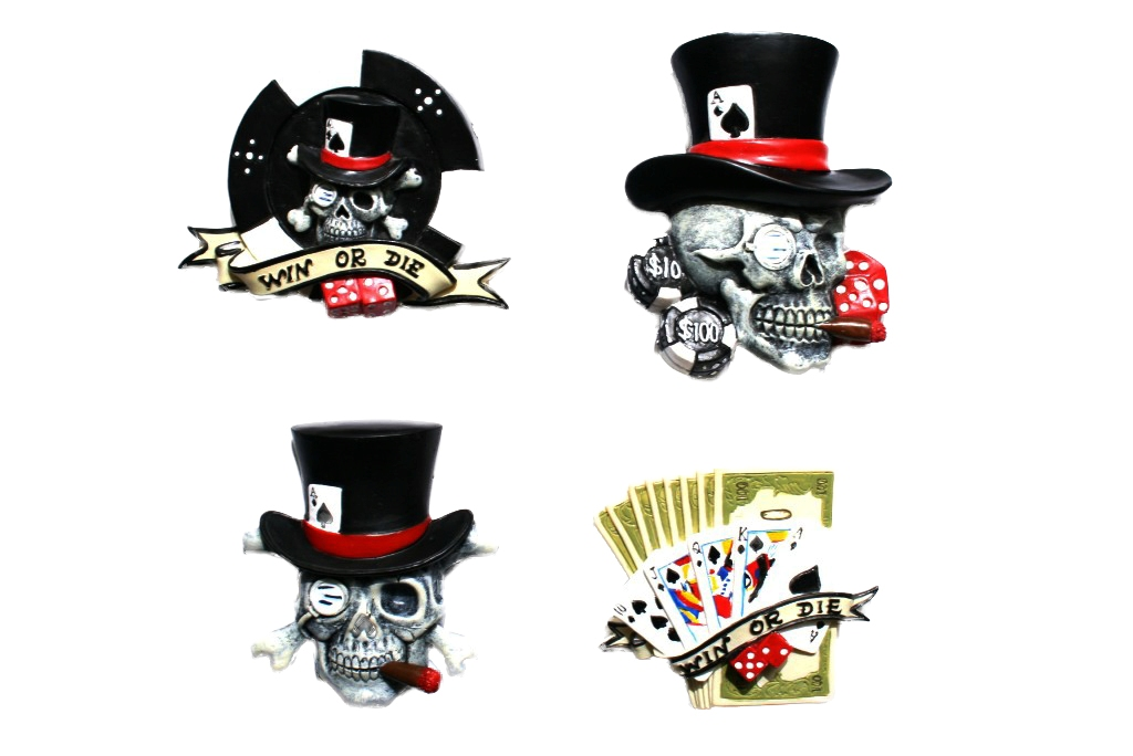 Magnetici Texas Poker Hold'em set 4 ass.ti