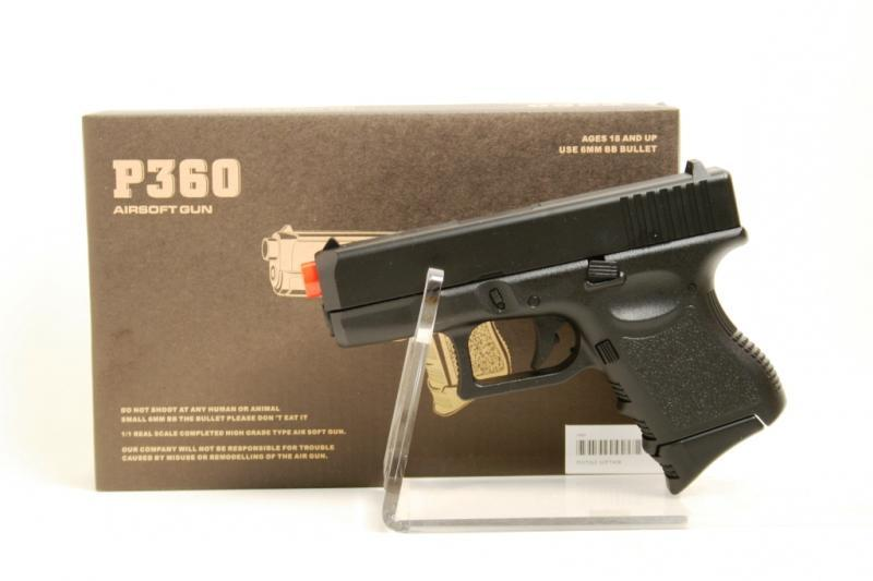 Pistola softair giocattolo