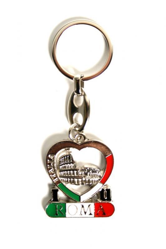 Porta chiavi smalti ROMA