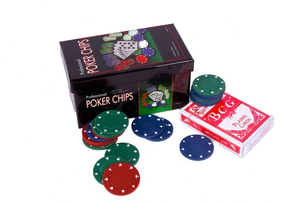 Poker chips game scatola regalo